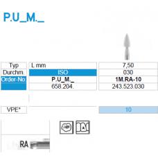Гумичка за полиране P.U1M.RA-10