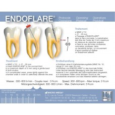 ENDOFLARE® -  Никел-титаниев  инструмент за разширяване на коронарната част на канала.