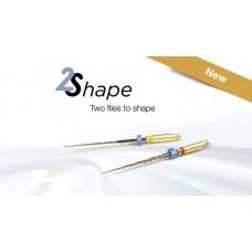 2Shape TS1 + TS2 NiTi машинни ротационни инструменти