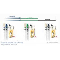 REVO-S Apical Никел-титаниев инструмент за инициално ендодонтско лечение.